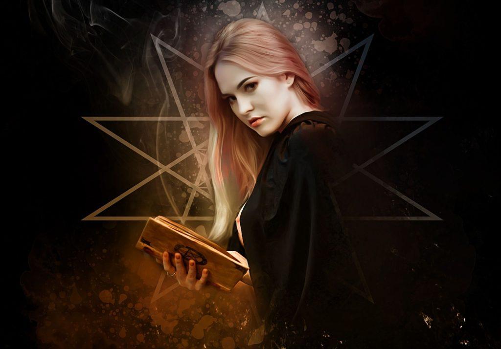 Hexe und dunkle Magie